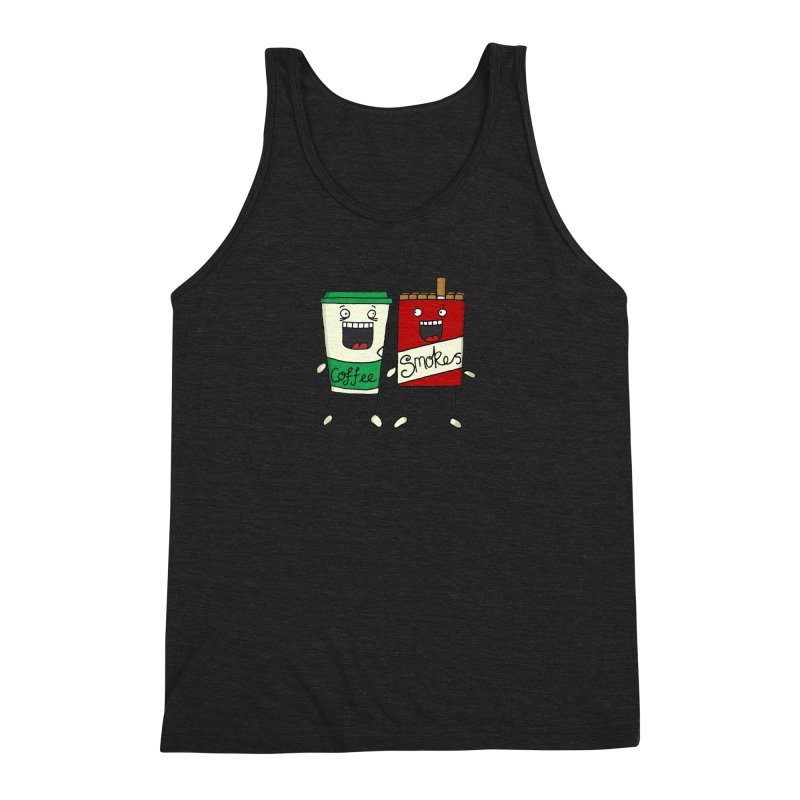 Addiction Friends Men's Triblend Tank by panelomatic's Artist Shop