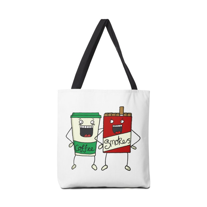 Addiction Friends Accessories Bag by panelomatic's Artist Shop