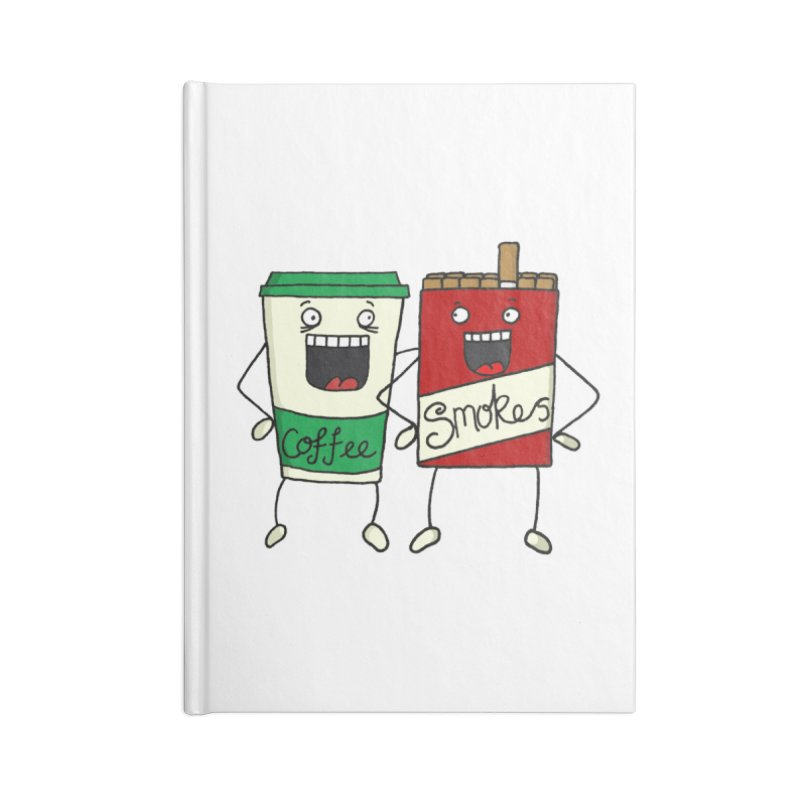 Addiction Friends Accessories Notebook by panelomatic's Artist Shop