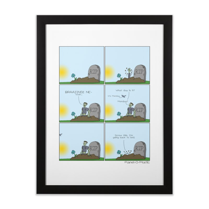 Print: What Day Is It? Home Framed Fine Art Print by panelomatic's Artist Shop