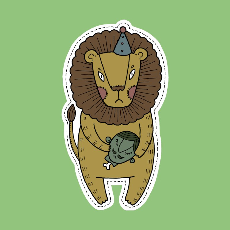 Circus Lion by Crazy Pangolin's Artist Shop