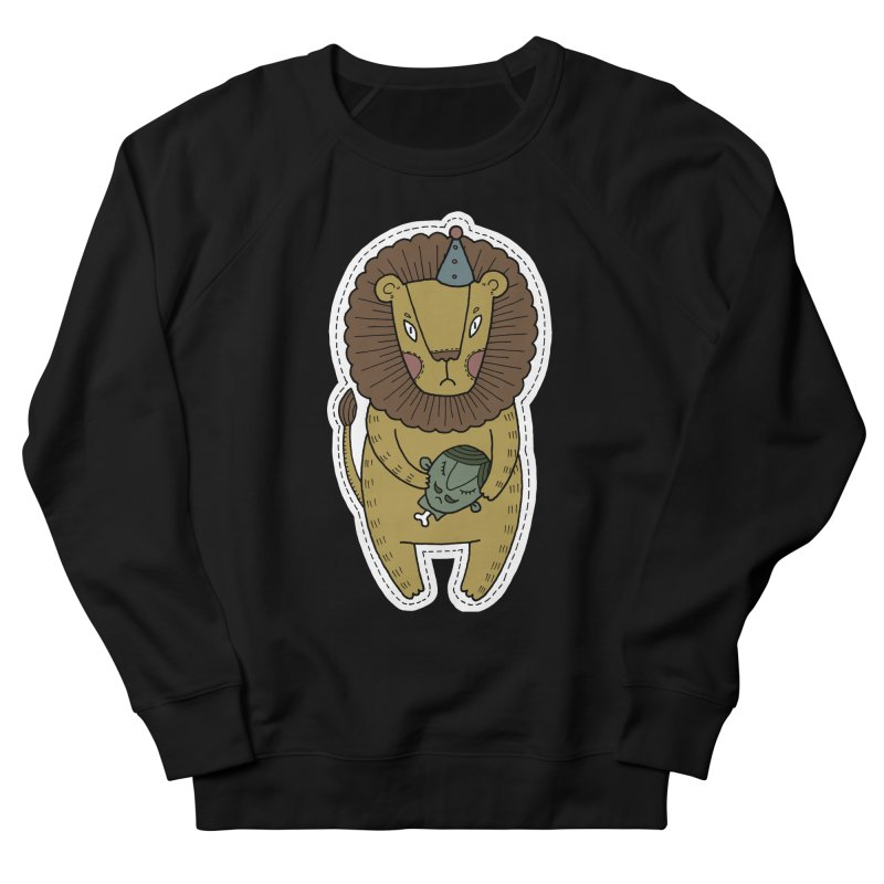 Circus Lion Women's Sweatshirt by Crazy Pangolin's Artist Shop