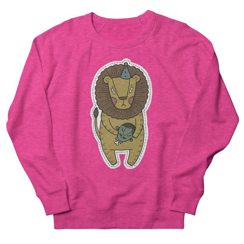 Circus Lion Men's Sweatshirt by Crazy Pangolin's Artist Shop