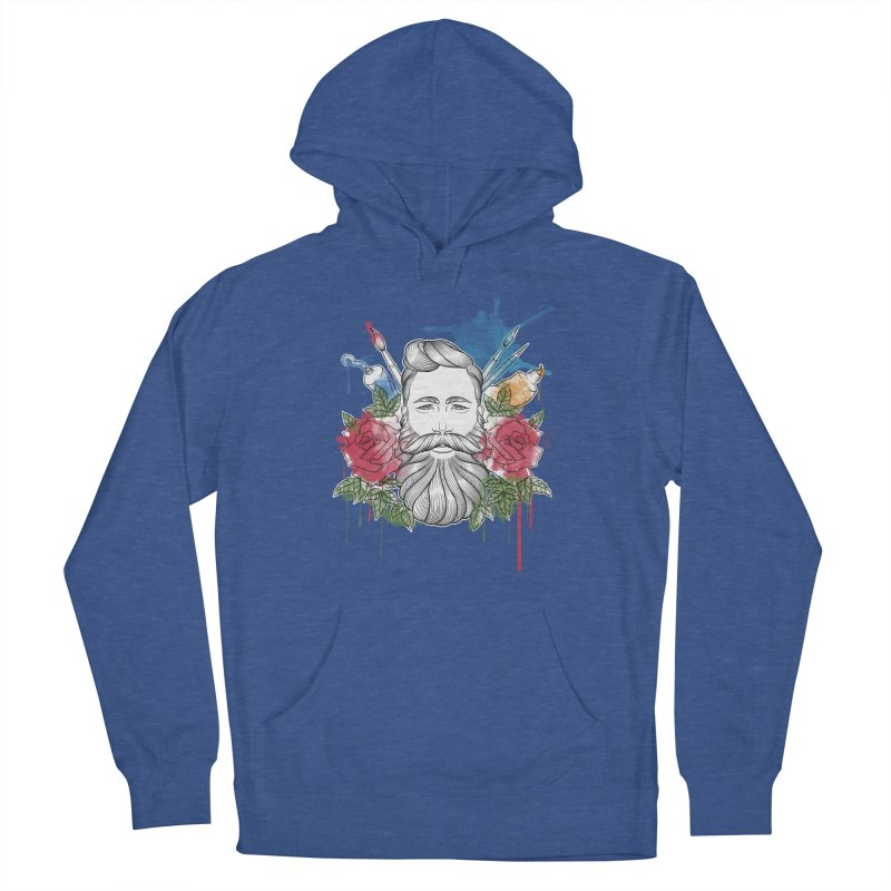 Artist Women's French Terry Pullover Hoody by Crazy Pangolin's Artist Shop