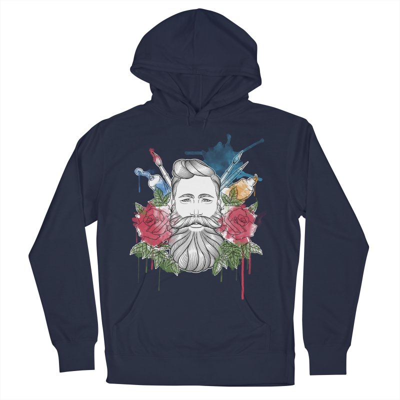 Artist Men's French Terry Pullover Hoody by Crazy Pangolin's Artist Shop