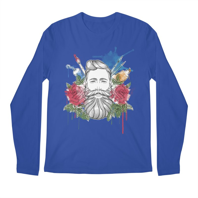 Artist Men's Longsleeve T-Shirt by Crazy Pangolin's Artist Shop