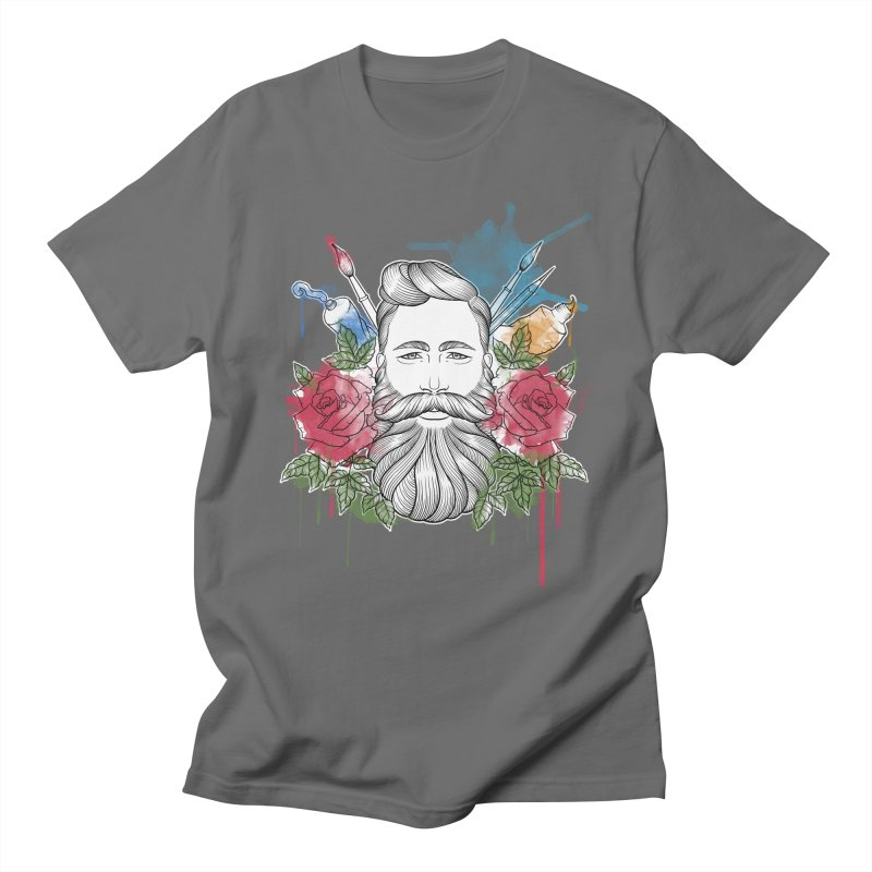 Artist Men's T-Shirt by Crazy Pangolin's Artist Shop