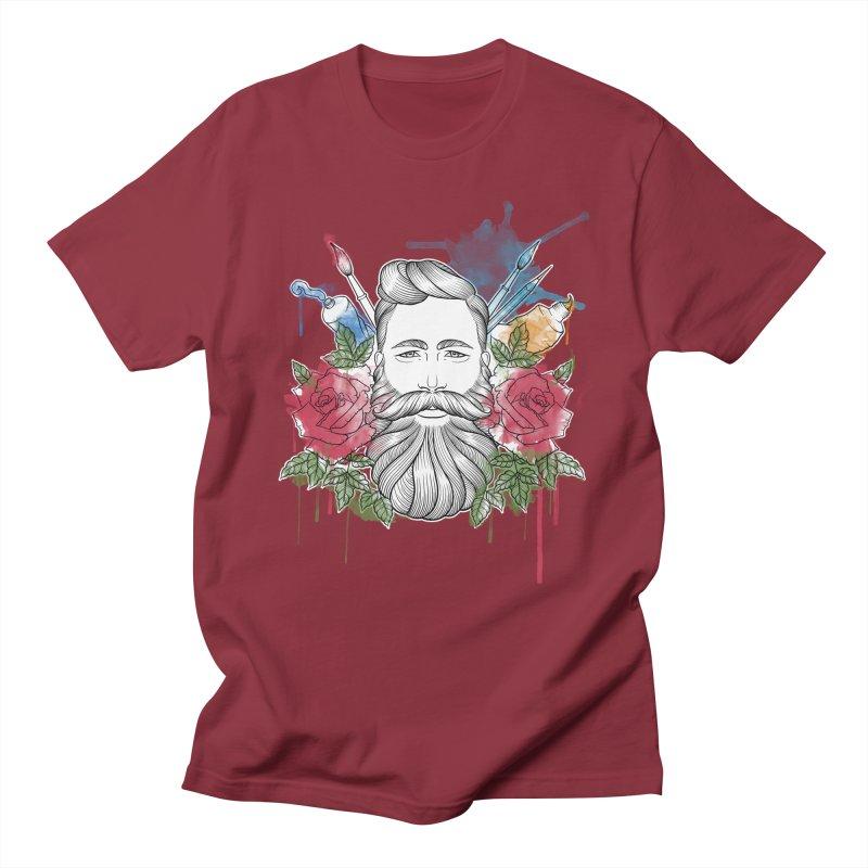 Artist Women's Regular Unisex T-Shirt by Crazy Pangolin's Artist Shop