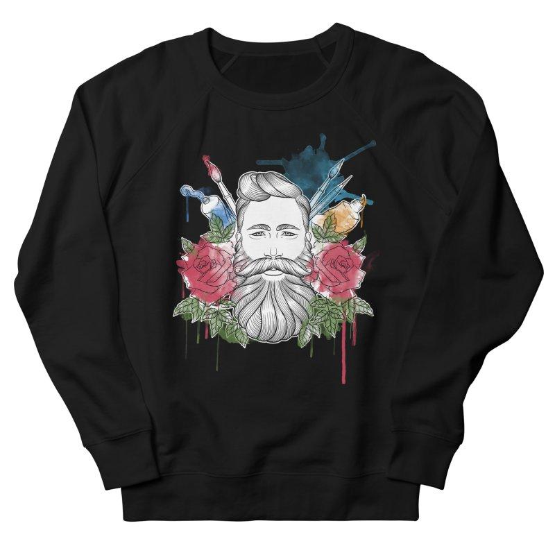 Artist Women's French Terry Sweatshirt by Crazy Pangolin's Artist Shop