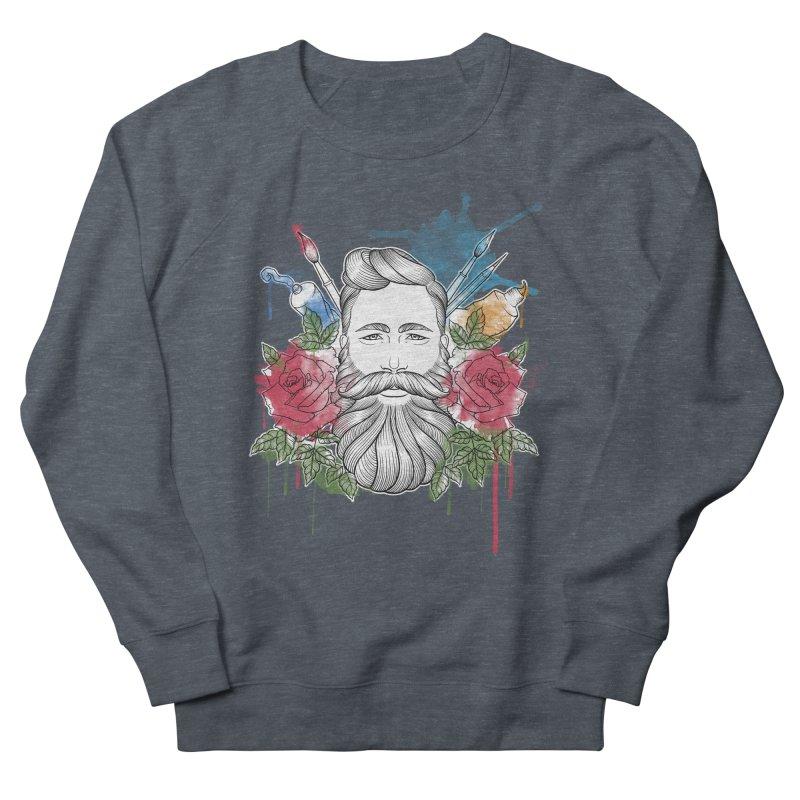 Artist Men's Sweatshirt by Crazy Pangolin's Artist Shop