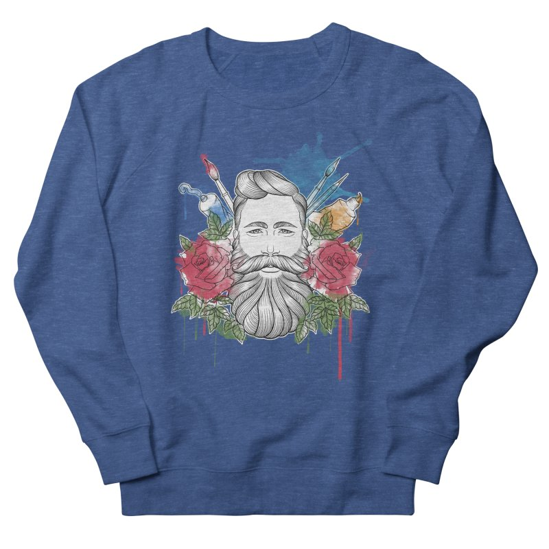 Artist Men's Sweatshirt by Crazy Pangolin's Artist Shop