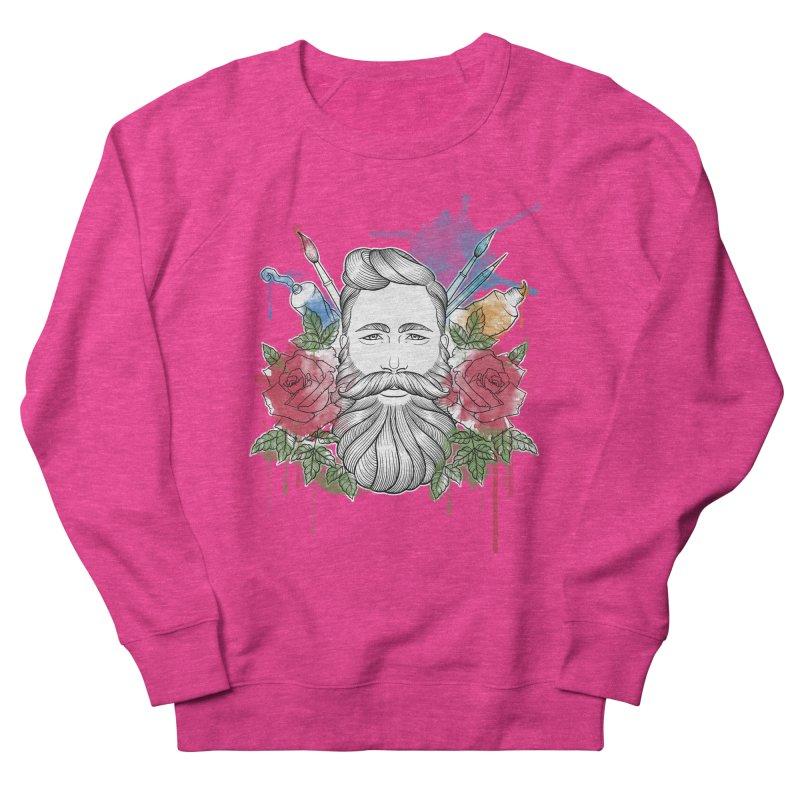 Artist Men's French Terry Sweatshirt by Crazy Pangolin's Artist Shop