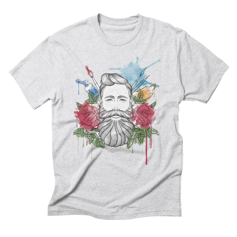 Artist Men's Triblend T-Shirt by Crazy Pangolin's Artist Shop