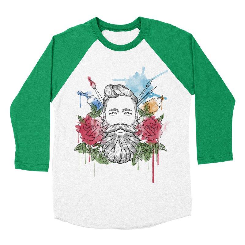 Artist Women's Baseball Triblend Longsleeve T-Shirt by Crazy Pangolin's Artist Shop