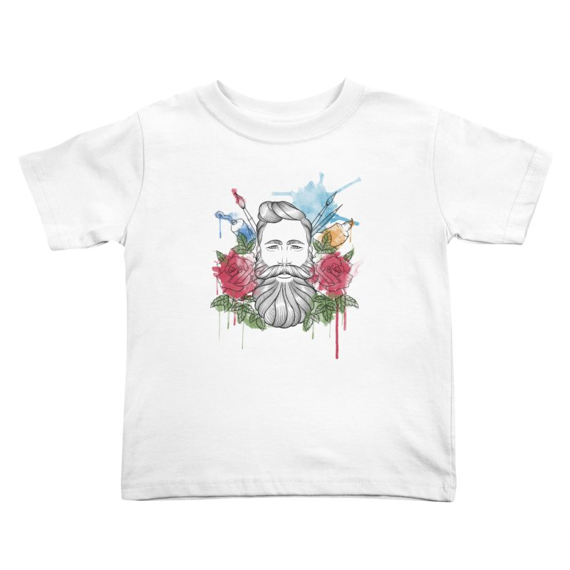 Artist Kids Toddler T-Shirt by Crazy Pangolin's Artist Shop