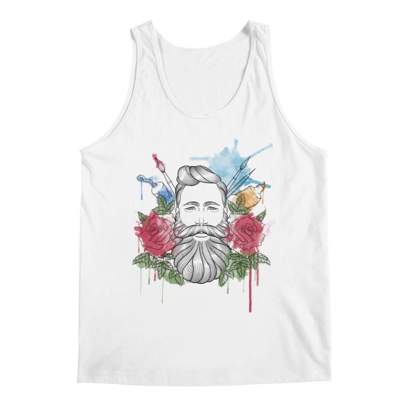 Artist Men's Regular Tank by Crazy Pangolin's Artist Shop