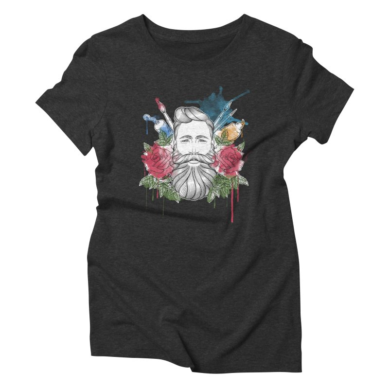 Artist Women's Triblend T-Shirt by Crazy Pangolin's Artist Shop