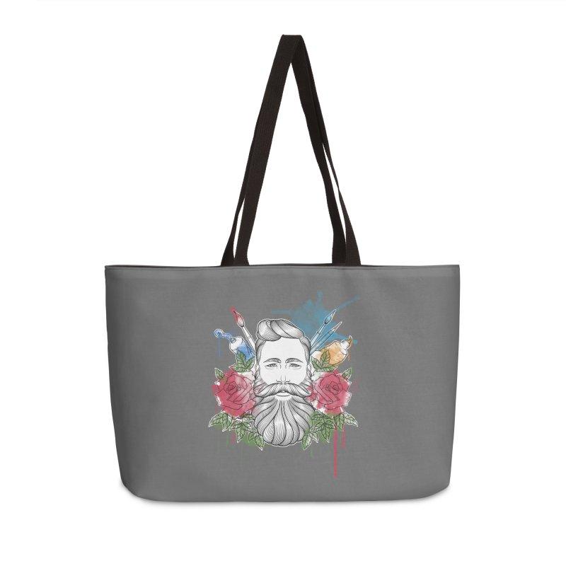 Artist Accessories Weekender Bag Bag by Crazy Pangolin's Artist Shop