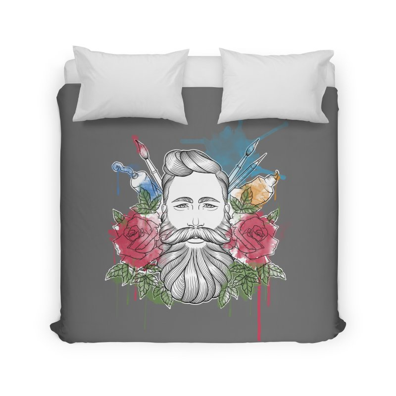 Artist Home Duvet by Crazy Pangolin's Artist Shop