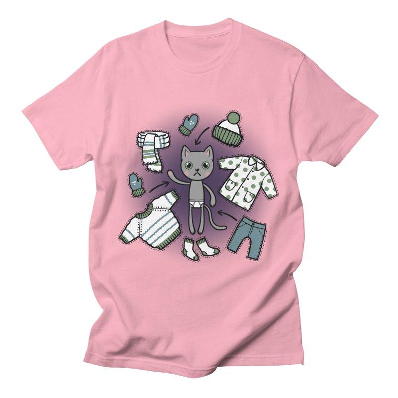 Hello winter... Women's T-Shirt by Crazy Pangolin's Artist Shop