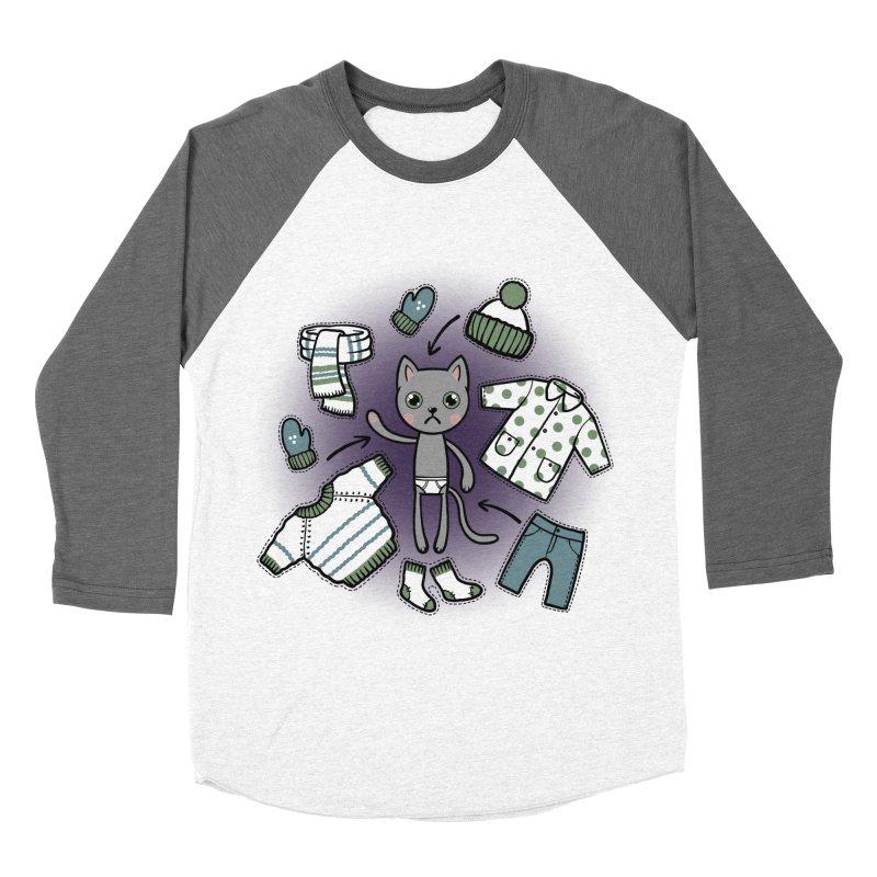 Hello winter... Women's Longsleeve T-Shirt by Crazy Pangolin's Artist Shop