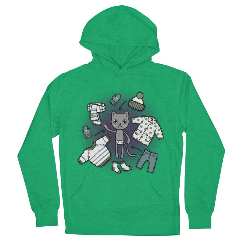 Hello winter... Women's Pullover Hoody by Crazy Pangolin's Artist Shop