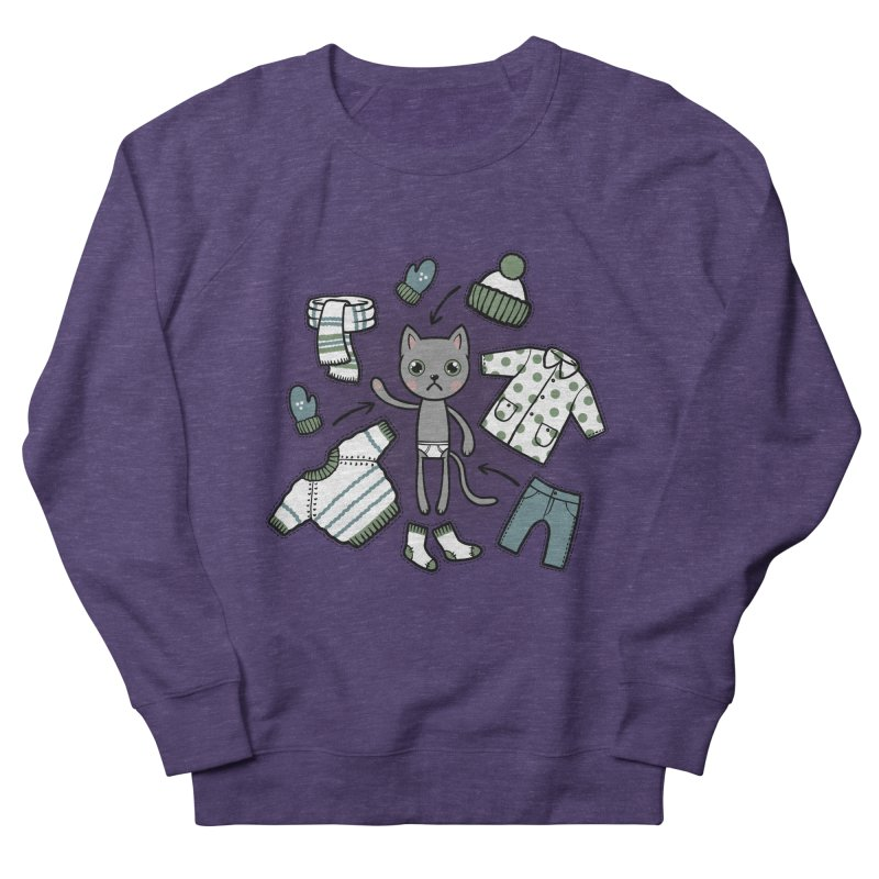 Hello winter... Women's Sweatshirt by Crazy Pangolin's Artist Shop