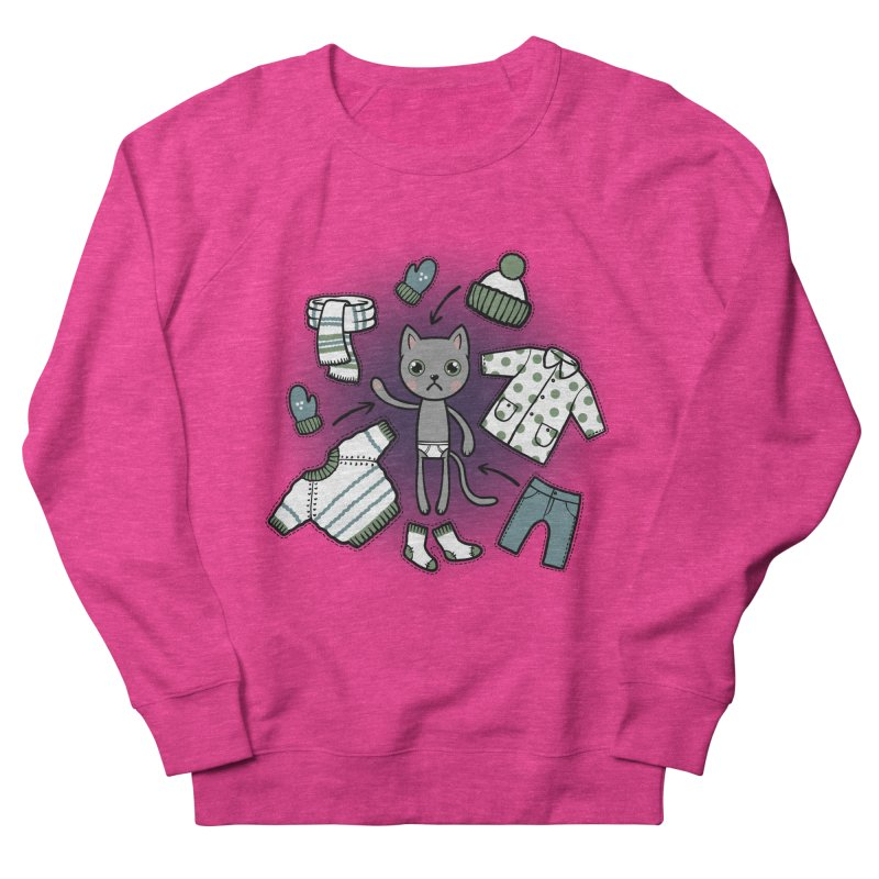 Hello winter... Women's Sweatshirt by Crazy Pangolin's Artist Shop