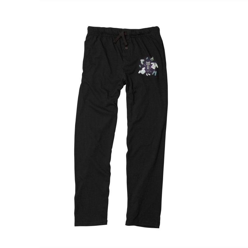 Hello winter... Men's Lounge Pants by Crazy Pangolin's Artist Shop