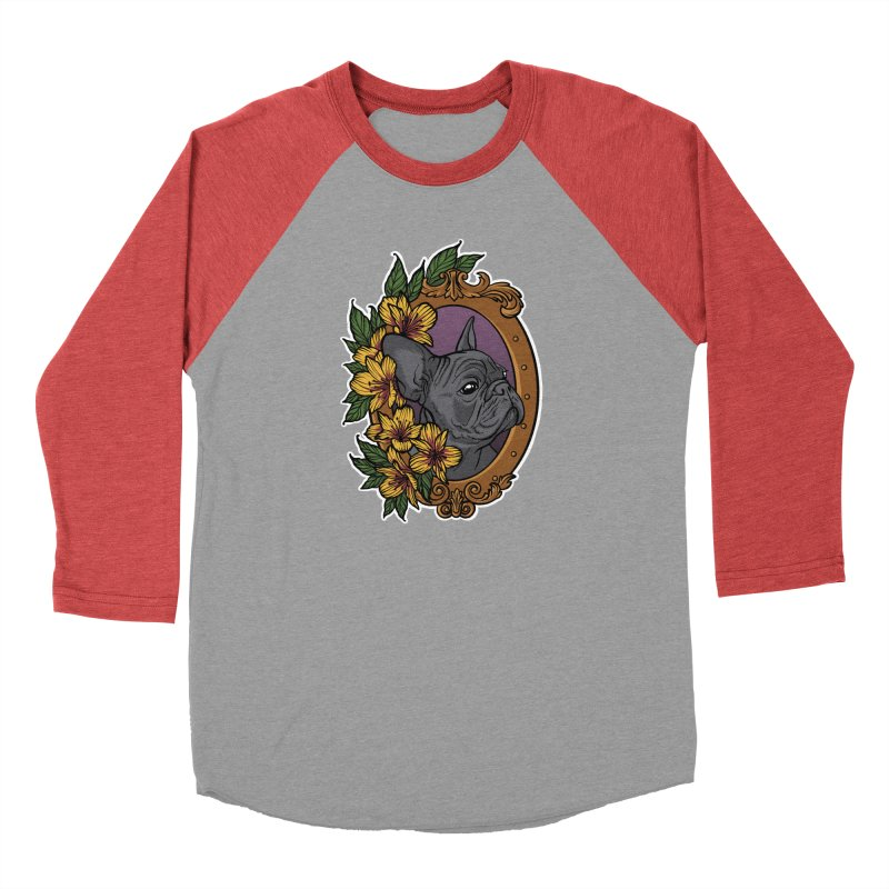 French Bulldog Men's Longsleeve T-Shirt by Crazy Pangolin's Artist Shop