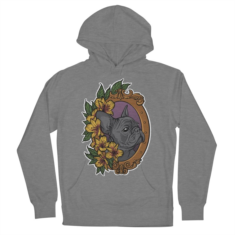 French Bulldog Women's Pullover Hoody by Crazy Pangolin's Artist Shop