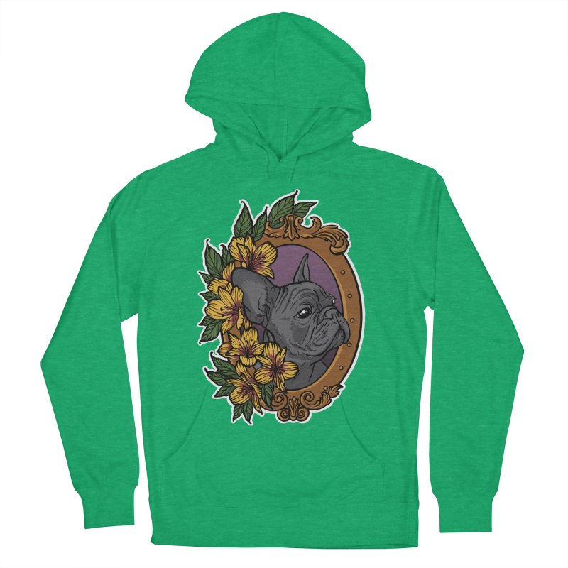 French Bulldog Men's Pullover Hoody by Crazy Pangolin's Artist Shop