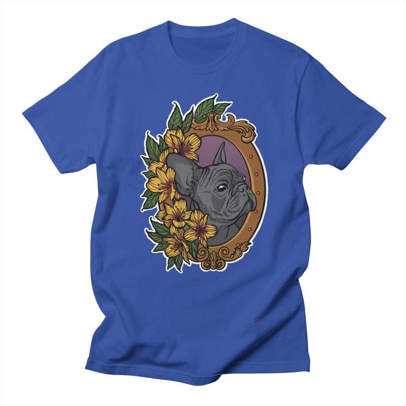 French Bulldog Women's Unisex T-Shirt by Crazy Pangolin's Artist Shop