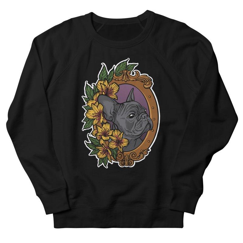 French Bulldog Women's Sweatshirt by Crazy Pangolin's Artist Shop