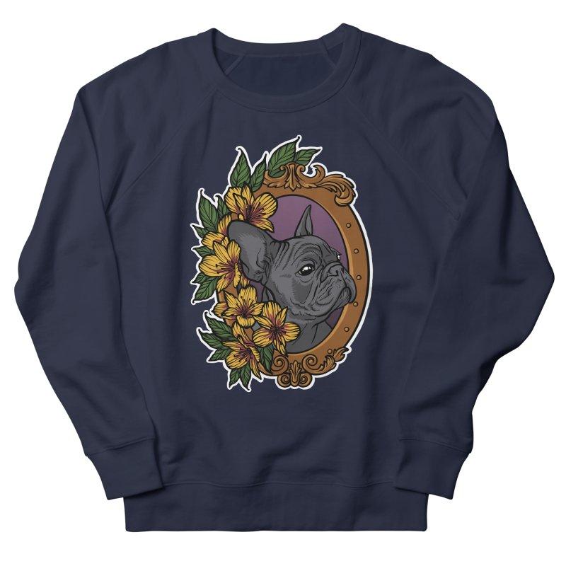 French Bulldog Men's Sweatshirt by Crazy Pangolin's Artist Shop