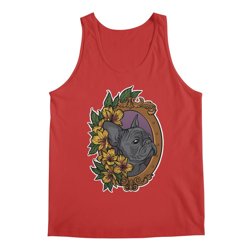 French Bulldog Men's Regular Tank by Crazy Pangolin's Artist Shop