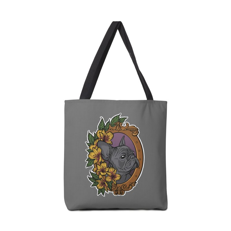 French Bulldog Accessories Tote Bag Bag by Crazy Pangolin's Artist Shop