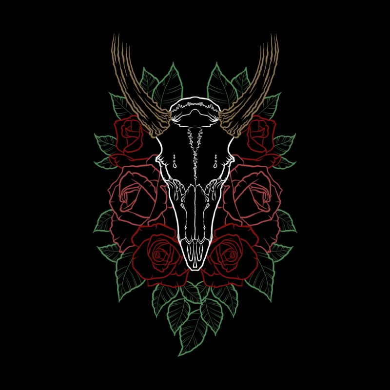 Deer skull by Crazy Pangolin's Artist Shop