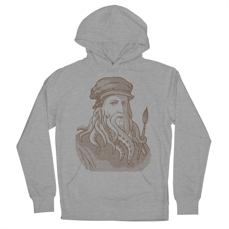 Leonardo da Vyjones Men's Pullover Hoody by Crazy Pangolin's Artist Shop