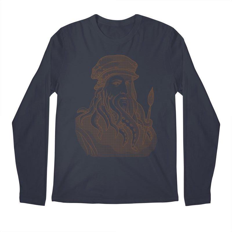 Leonardo da Vyjones Men's Regular Longsleeve T-Shirt by Crazy Pangolin's Artist Shop