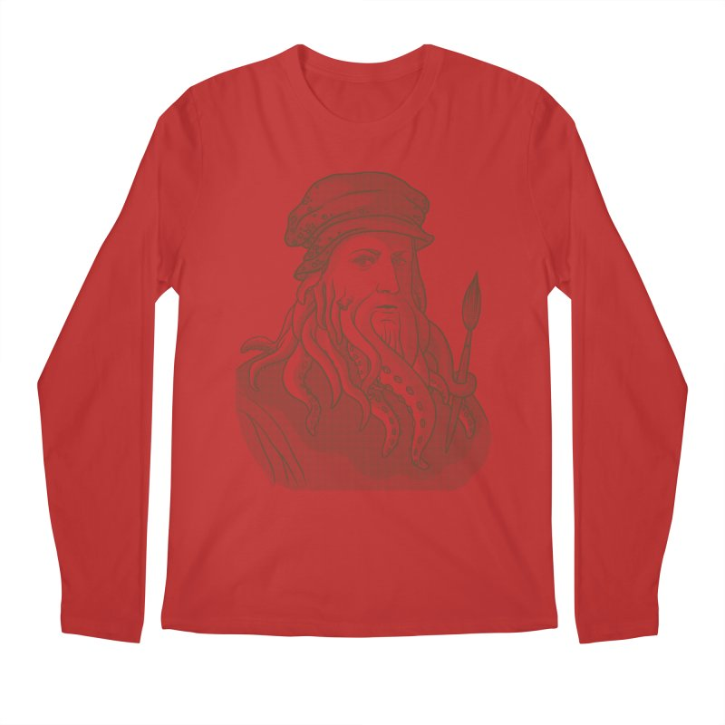 Leonardo da Vyjones Men's Longsleeve T-Shirt by Crazy Pangolin's Artist Shop