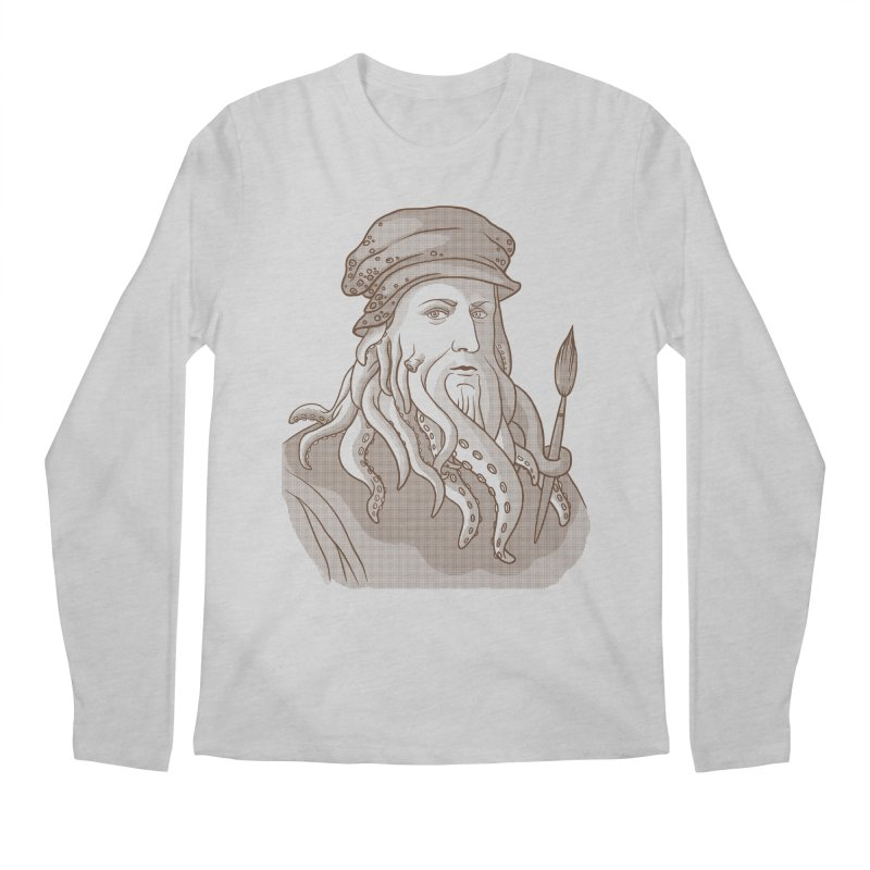 Leonardo da Vyjones Men's Regular Longsleeve T-Shirt by Crazy Pangolin's Artist Shop