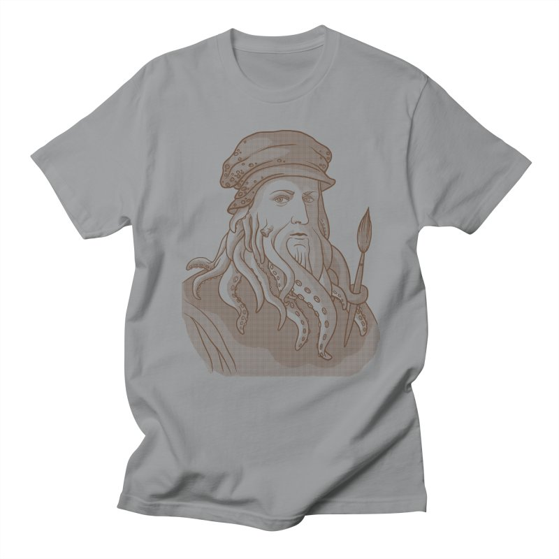 Leonardo da Vyjones Men's Regular T-Shirt by Crazy Pangolin's Artist Shop
