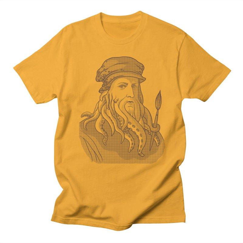 Leonardo da Vyjones Women's Regular Unisex T-Shirt by Crazy Pangolin's Artist Shop