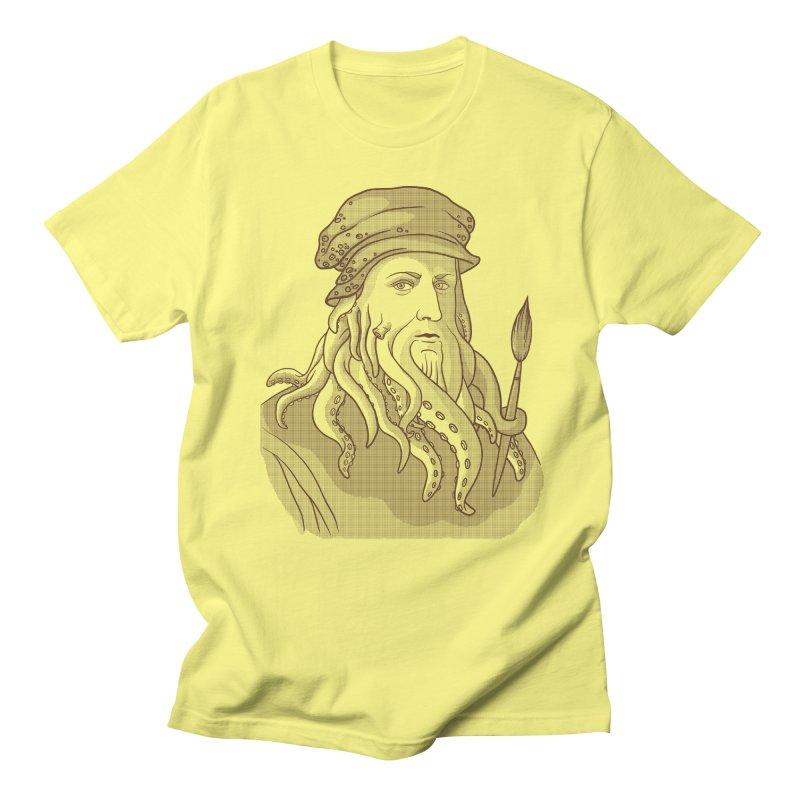 Leonardo da Vyjones Men's Regular T-Shirt by Crazy Pangolin's Artist Shop