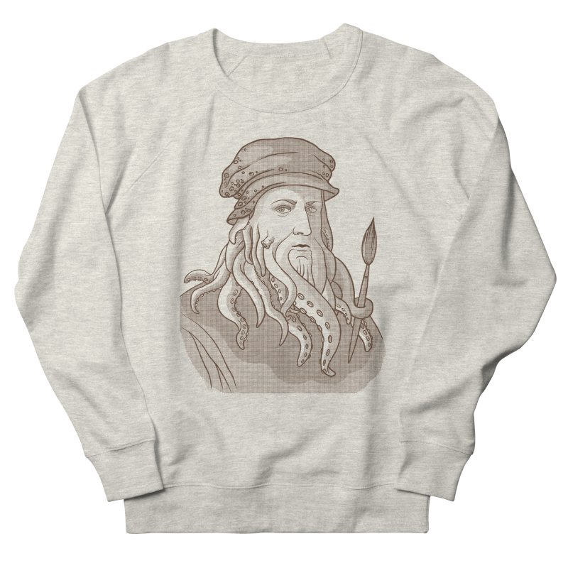 Leonardo da Vyjones Men's Sweatshirt by Crazy Pangolin's Artist Shop