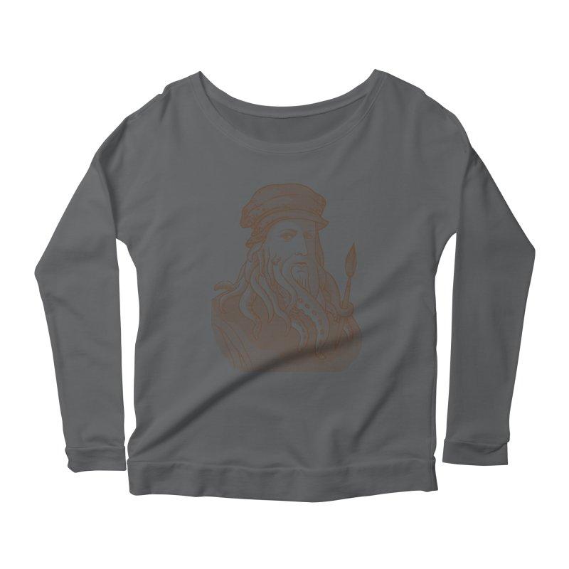 Leonardo da Vyjones Women's Longsleeve T-Shirt by Crazy Pangolin's Artist Shop