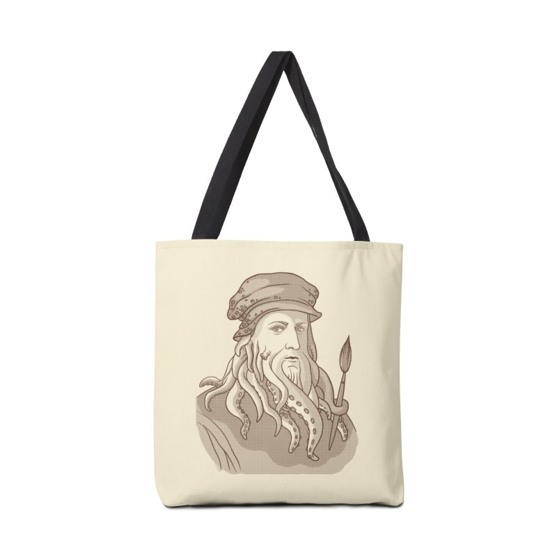 Leonardo da Vyjones Accessories Tote Bag Bag by Crazy Pangolin's Artist Shop