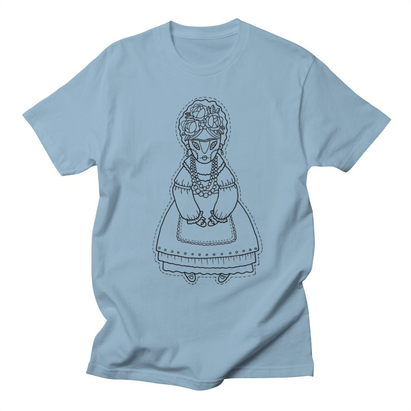 Frida Kahlo Men's T-Shirt by Crazy Pangolin's Artist Shop