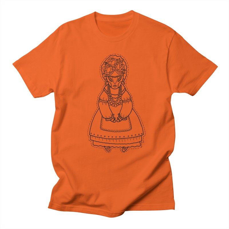 Frida Kahlo Women's Regular Unisex T-Shirt by Crazy Pangolin's Artist Shop